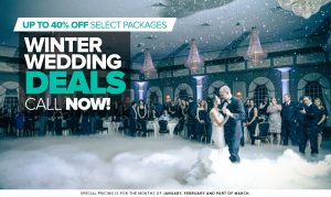 Winter Wedding Deals nj ny ct