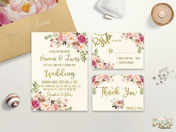 2017 Wedding Invitation Trends New Jersey New Yorks Wedding – Floral Wedding Invitations