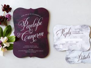 Moody Colors Invitations