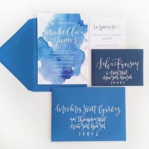 Watercolor Style Invitation