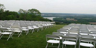 white-samsonite-chairs