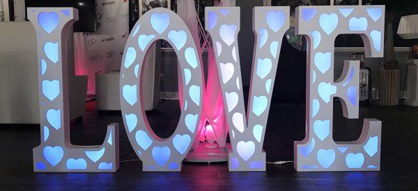 led love letter rentals