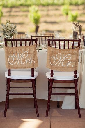 Burlap-Wedding-Chair-signs-Mr-and-Mrs-chair-signs