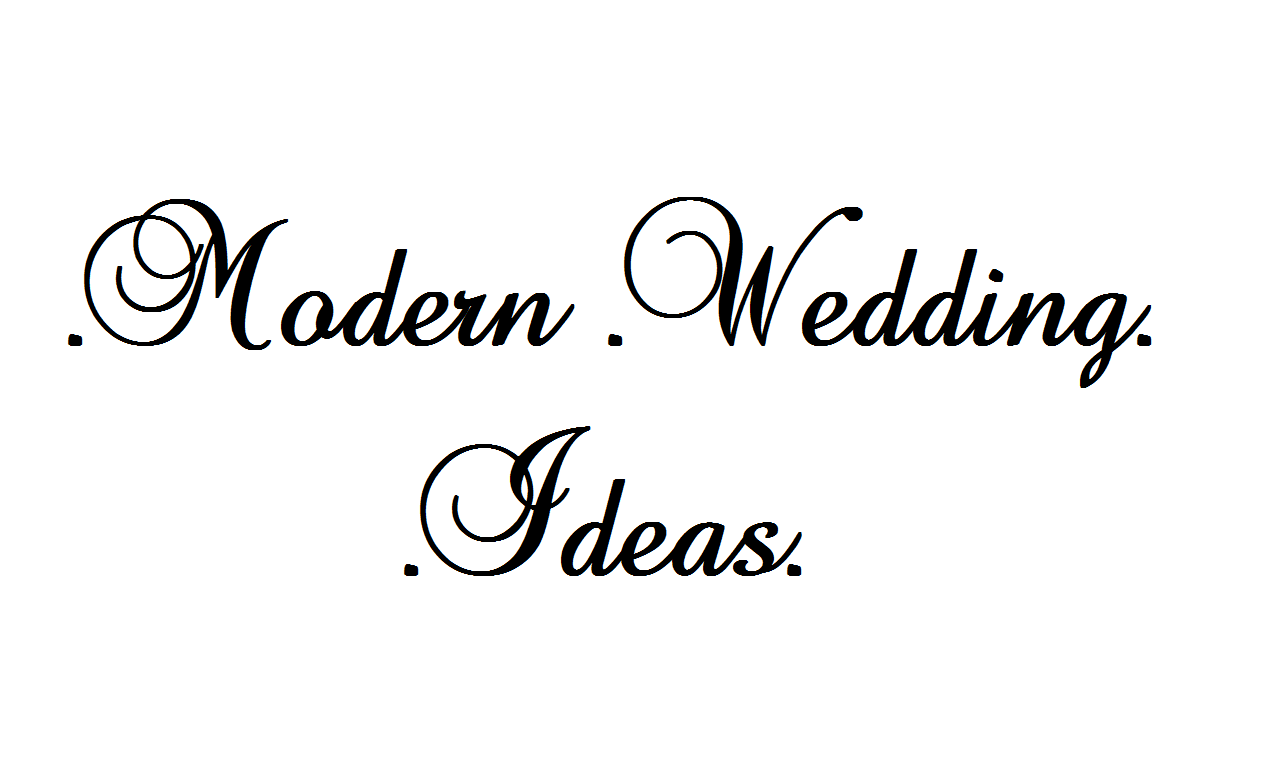 50 Modern Wedding Ideas