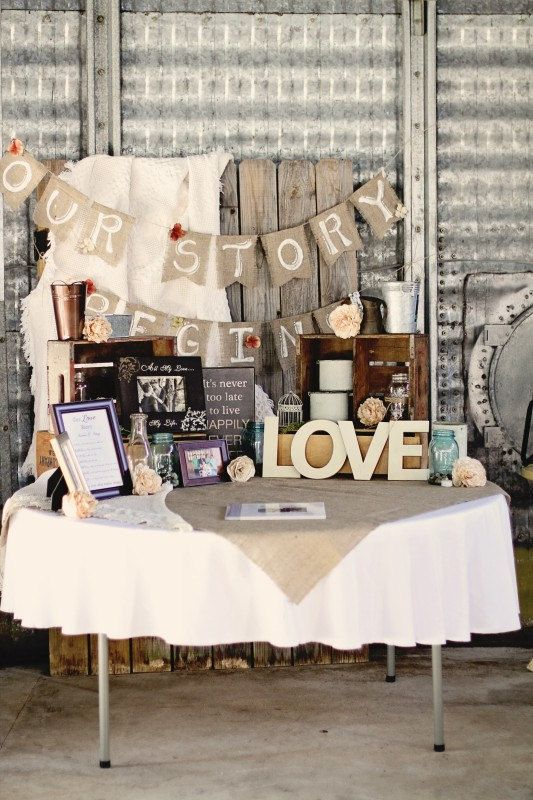 Our-Story-Begins-Custom-burlap-wedding-banner