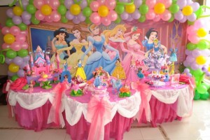 Princes theme party