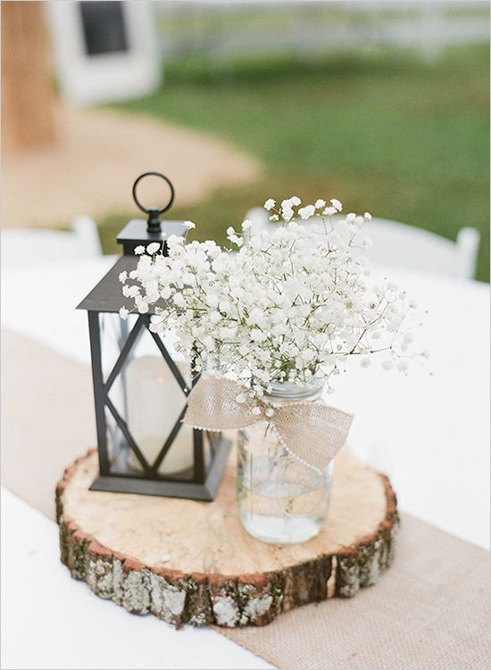 rustic-wedding-idea-Red-barn-wedding-with-fresh-babys-breath