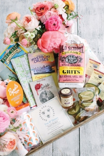 southern-wedding welcome bag